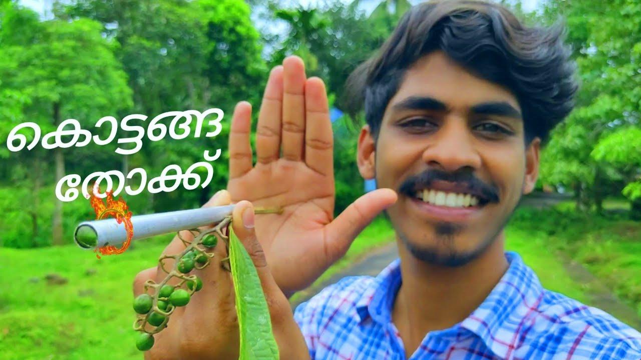 കൊട്ടങ്ങ തോക്ക്   How to make Grewia Nervosa Gun   Arjun talks