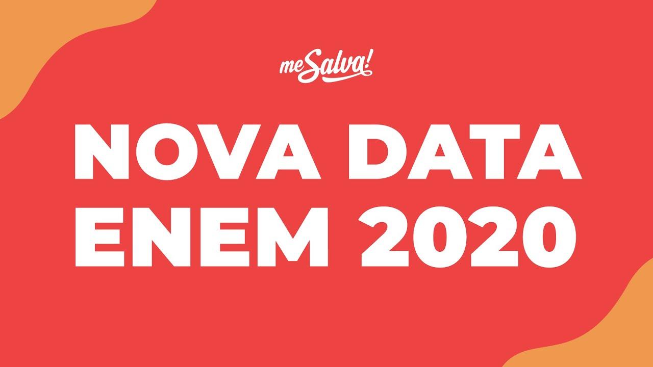 ENEM 2020 EM JANEIRO | Saiba como estudar com a nova data! | Me Salva!