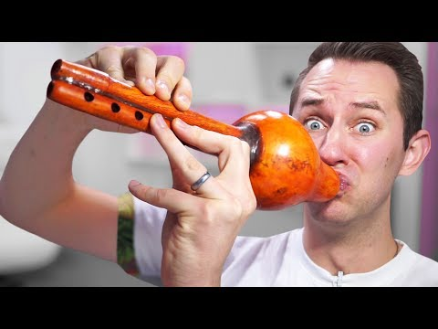 Snake Charmer? | 10 Unusual Musical Instruments!