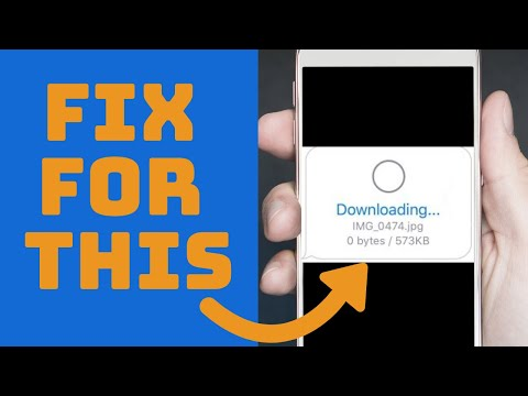 3 Quick Fixes - IPhone Won't Send Or Download Pictures