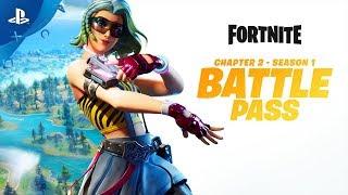 Fortnite | Chapter 2 - Season 1 Battle Pass Gameplay Trailer | PS4