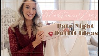VALENTINES DATE NIGHT OUTFIT IDEAS // #SpeedStyling // Fashion Mumblr