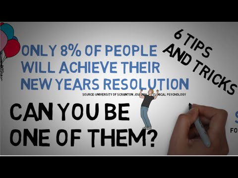 New Year's Resolution Animated Tips And Tricks