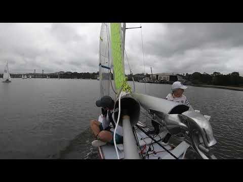 27th Feb 2021 Concord Ryde Anniversary regatta VJ sailing #8