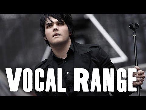 """Gerard Way Vocal Range """"The Black Parade"""" (B2 - E5)"""