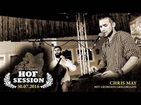 Chris May mit Georgios Grigoriadis | Live bei der »Haigerer Hof Session 2016«