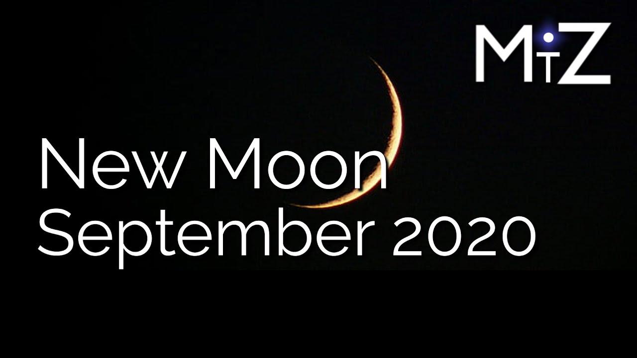 New Moon Thursday September 17th 2020 - True Sidereal Astrology