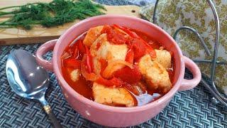 Куриное Филе с Овощами в Томатном Соусе Приготовление Этого Блюда Отнимет у Вас 30 Минут