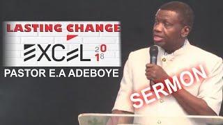 pastor ea adeboye sermon lasting change