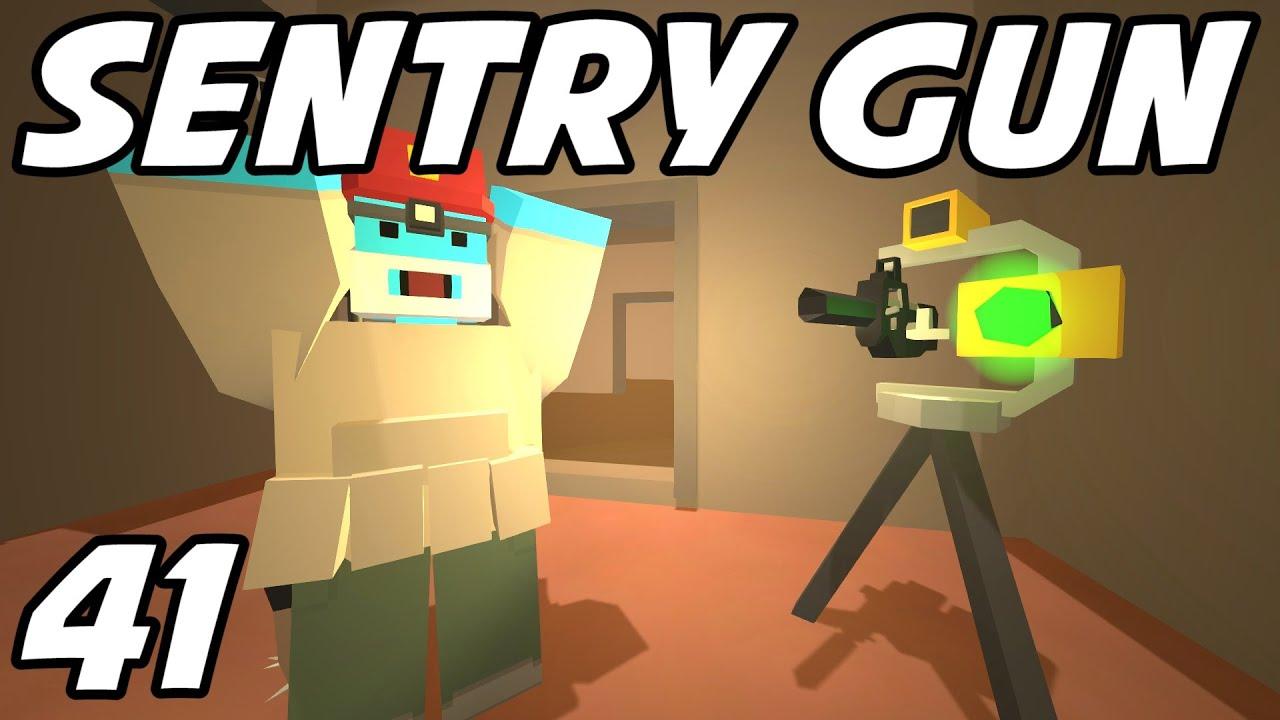 unturned e41 sentry gun berry pie unturned role play youtube