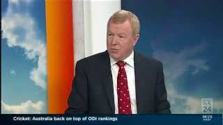 ABC News Breakfast Interview with Rod North 14 October 2014