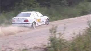Тесты перед Ралли Выборг 2019 BMW E36 328 Вадим Лелюх