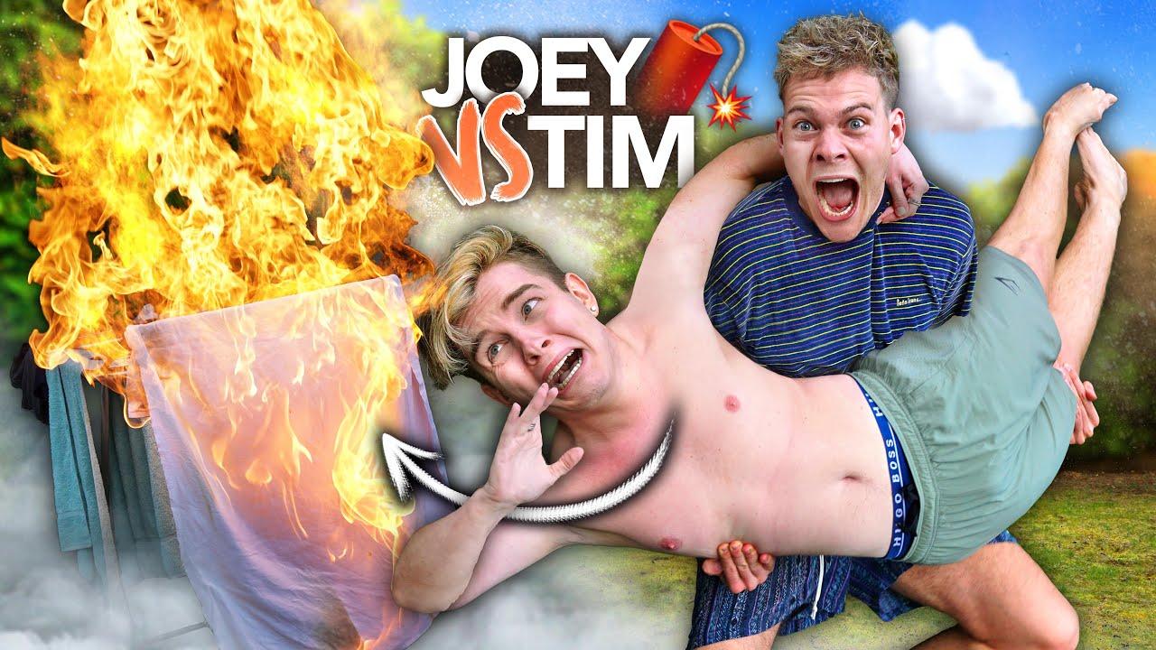 TIM & ICH QUÄLEN UNS FÜR 24 STUNDEN GEGENSEITIG mit Twenty4Tim | Joey's Jungle
