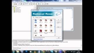 Построение диаграммы классов в Rational Rose