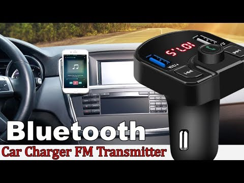 Car Charger FM Transmitter Handsfree Bluetooth MP3 Player
