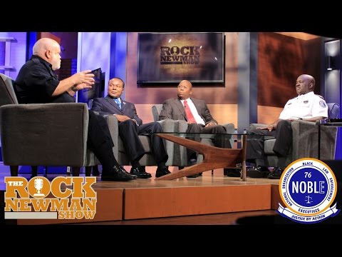 Police Executives from N.O.B.L.E. on The Rock Newman Show
