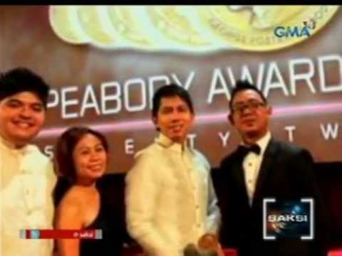 "Programang ""Reel Time"" sa GMA News TV, tumanggap ng George Foster Peabody Award"