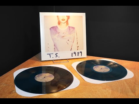1989 (Taylor Swift) - Vinyl Unboxing