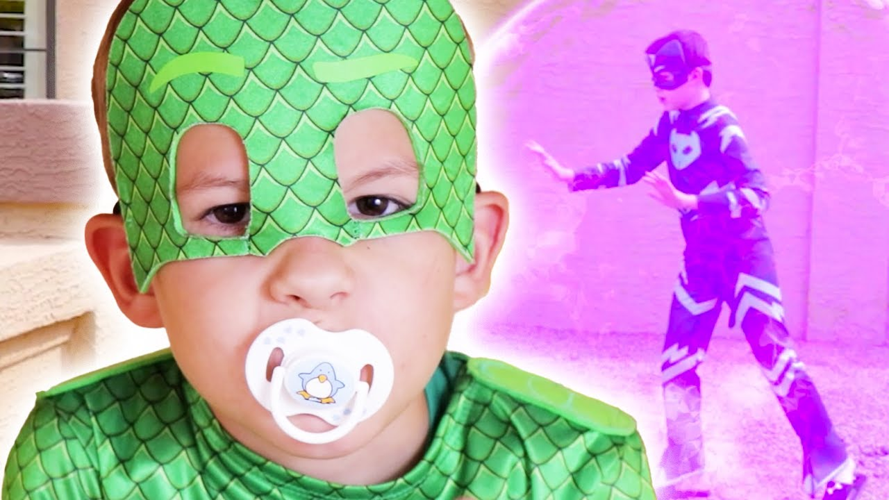 Download PJ Masks in Real Life 🍼 PJ Masks get turned into Babies! | PJ Masks Official