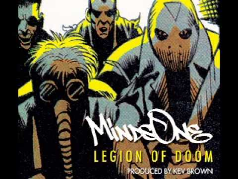 "MindsOne ""Legion Of Doom"" Produced by Kev Brown"