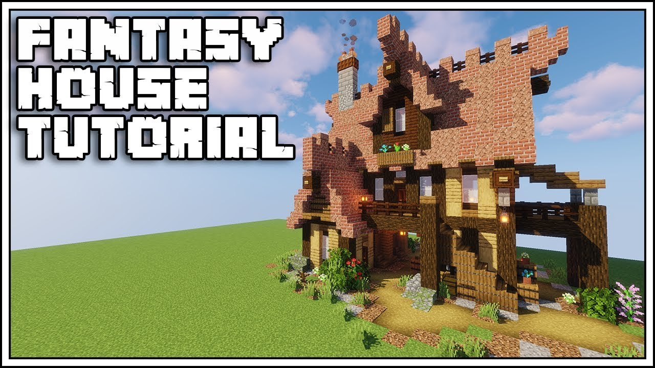 Minecraft Fantasy House Tutorial [Minecraft 10.104]