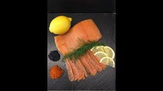Красная рыба, холодного копчения