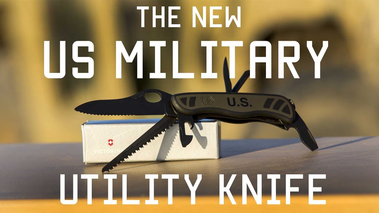 The Us Military S New Combat Utility Knife Review