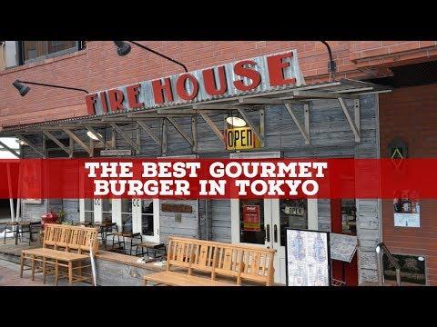 GOURMET BURGERS in TOKYO - The FIREHOUSE Restaurant