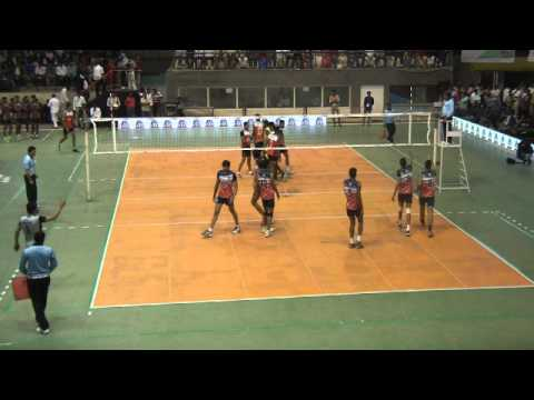 64th Indian National Volleyball: Karnataka Vs Rajastan
