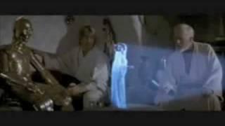 Help me Obi Wan Kanobi you