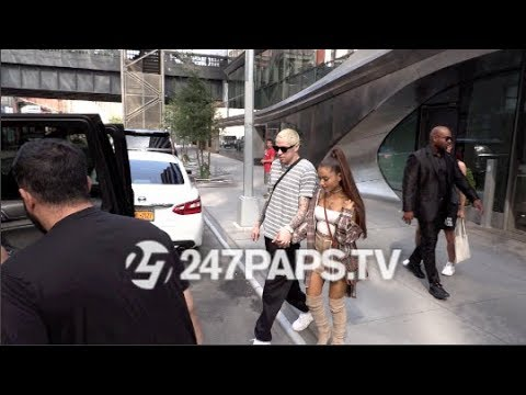 Ariana Grande and Pete Davidson Enjoy Shopping Day at Barney's 071618