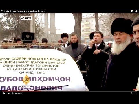 Tajikistan intensifies crackdown on Islamist party