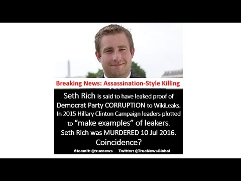 EXPLOSIVE Proof of Seth Rich Assassination Coverup by DNC & Deep State Criminals?