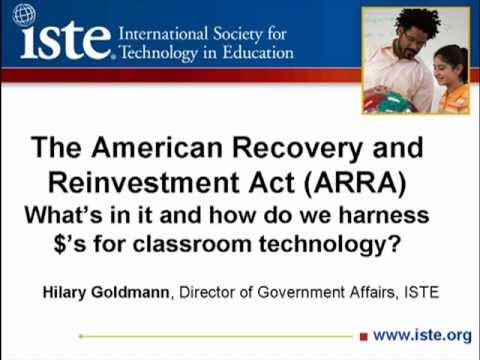 The Stimulus Plan (ARRA) and What It Means to Your School or District