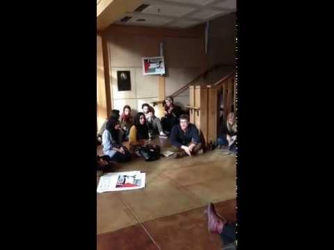 Occupation of Dutton Hall, University of California Davis, November 19, 2012