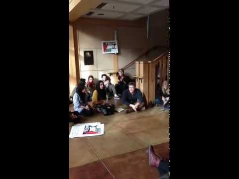 Occupation of Dutton Hall, University of California Davis, November 19, 2012