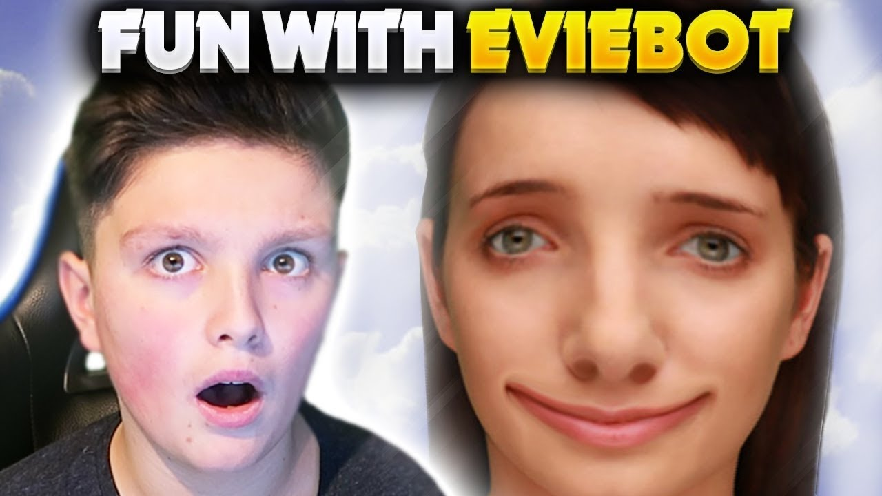 EVIE LIKES ISIS!   Talking To Eviebot! (Morgz Deleted Video)