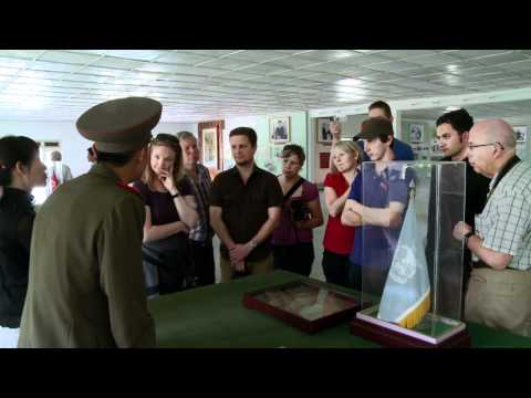 Nordkorea Reise 2012 - Fahrt zur Grenze nach Südkorea in die DMZ - Teil 2
