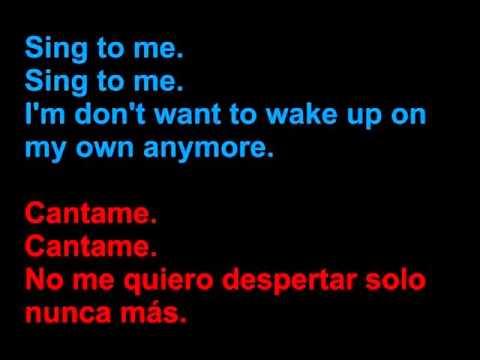 The Smiths   Asleep   Letra en español y en inglés en la pantalla