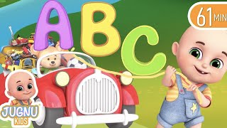 abc songs alphabet song learning for kids learn english with songs for children jugnu kids