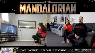 THE MANDALORIAN Chapter 16 (The Rescue) 2x8 season finale REACTION!! last 10 min