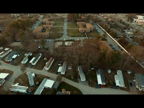 Drone Test: South Broadway at Dusk in Salem, NH - 2160/30p (4k)