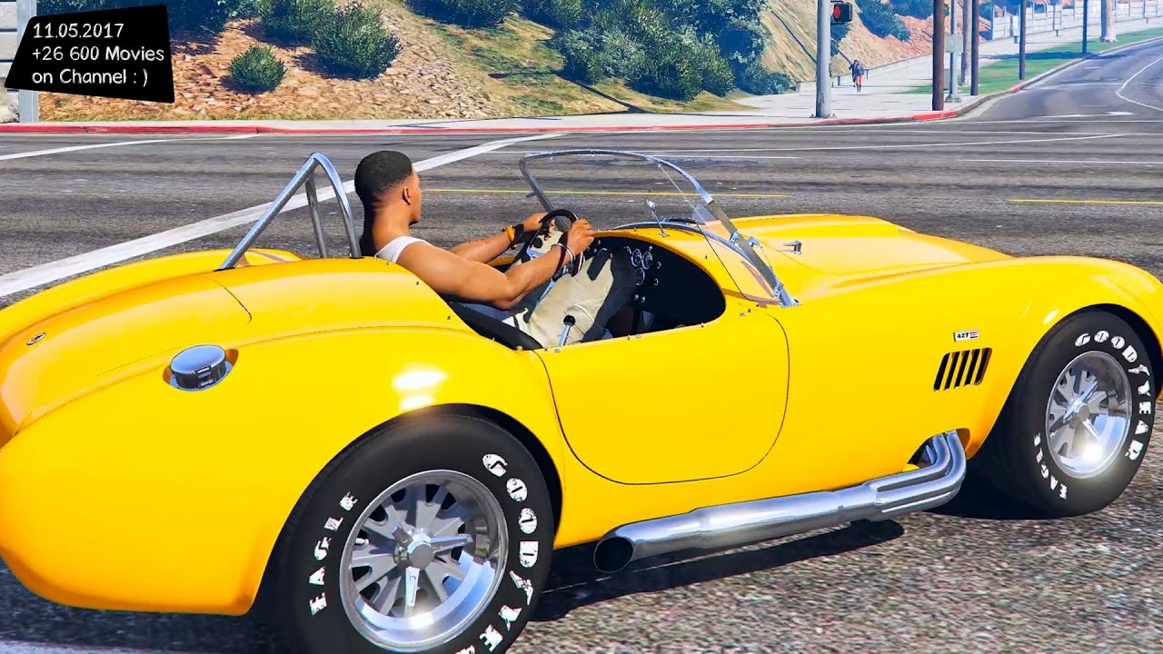 1965 Shelby Cobra 427 A/C New ENB Top Speed Test GTA Mod Future ...