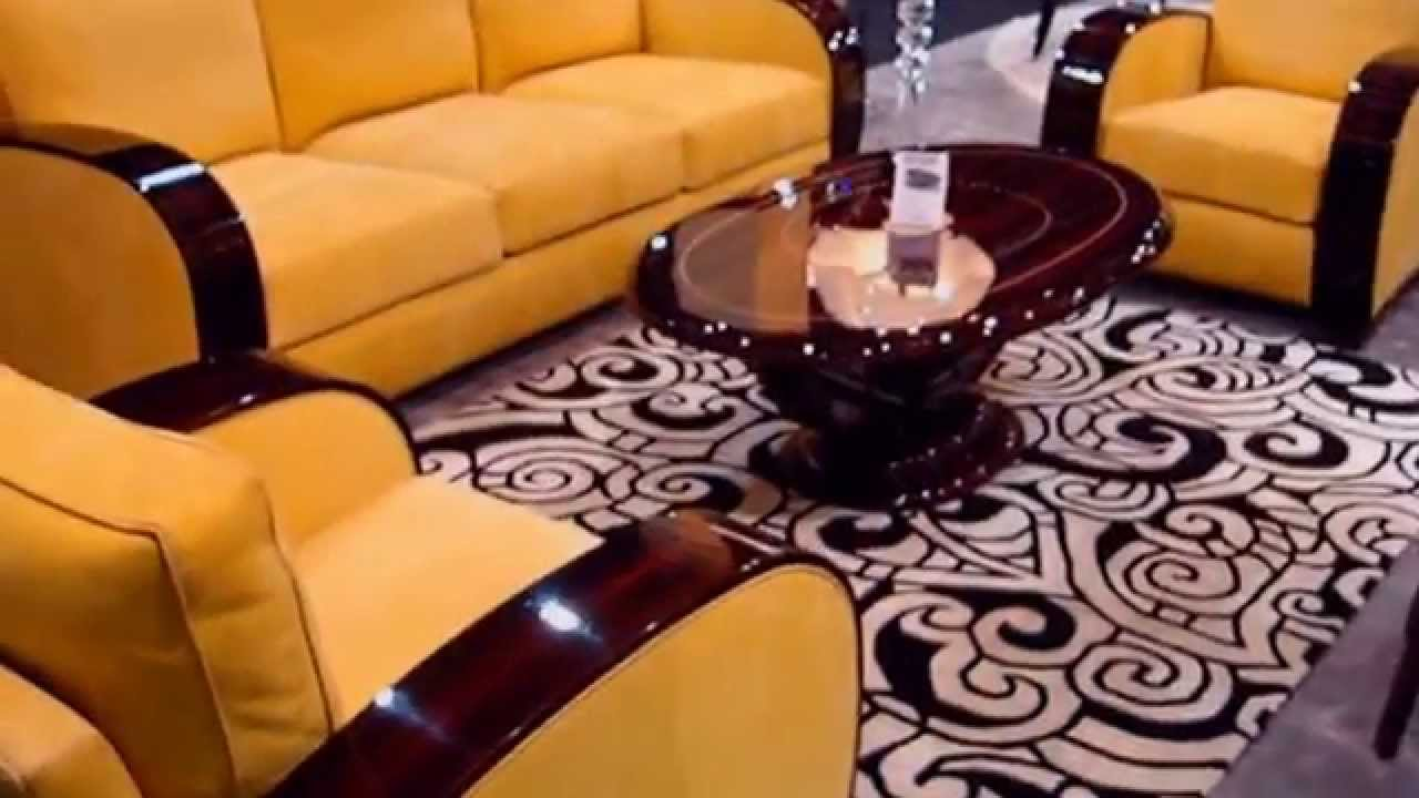 Canapes Art Deco Et Mobilier De Luxe Canada Qatar Maroc Geneve Dubai