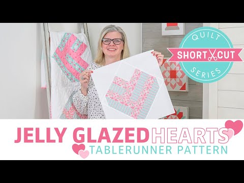 free-pattern:-jelly-glazed-hearts-tablerunner-|-shortcut-quilt-series-|-fat-quarter-shop