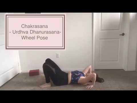 chakrasana  urdhva dhanurasana  wheel pose  youtube