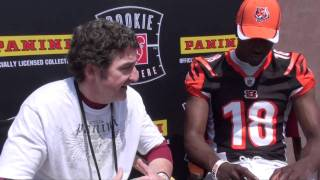 The Panini America Interview: Cincinnati Bengals Superstar Receiver A.J. Green