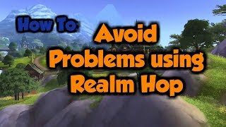 how To: Avoid Problems using Realm Hop
