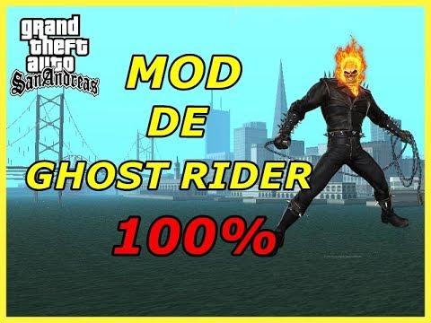 Como Descargar El Mod De Ghost Rider Para El GTA SAN ANDREAS