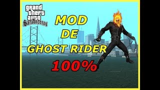 How To Install Ghost Rider Mod In Gta San Andreas Pc